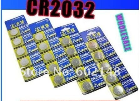 5bag(25pcs)/lot free shipping 3V Lithium CR2032 and CR 2016  practical Cell Button Coin Battery