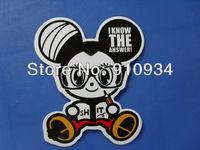 2012 best selling  Sticker for   Notebook , Fridge  Skateboard, Suit Case,etc