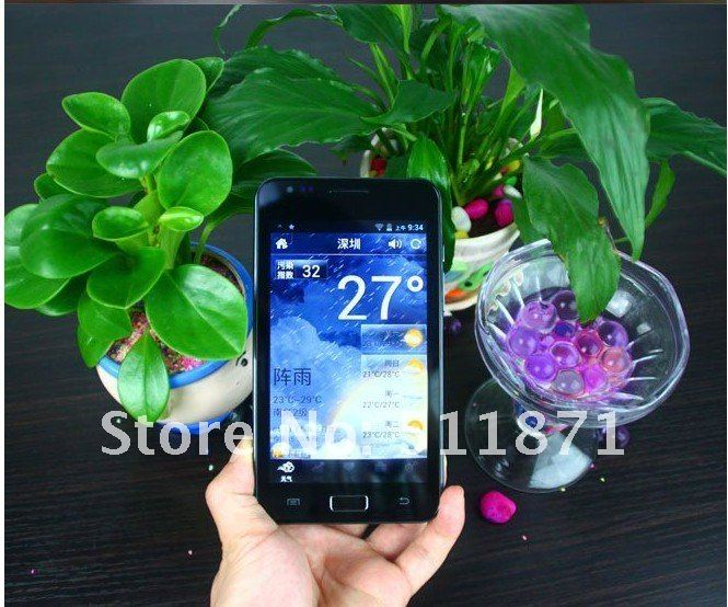 I9220 Note Plus 5.3 inch Android 4.0 ICS Phone MTK6575 1GHz Cortex A9 Dual Camera 5MP