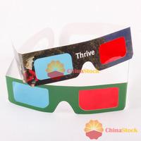 Потребительская электроника ChinaStock] 2 x Red Cyan Blue 3D Glasses 3 D Dimensional