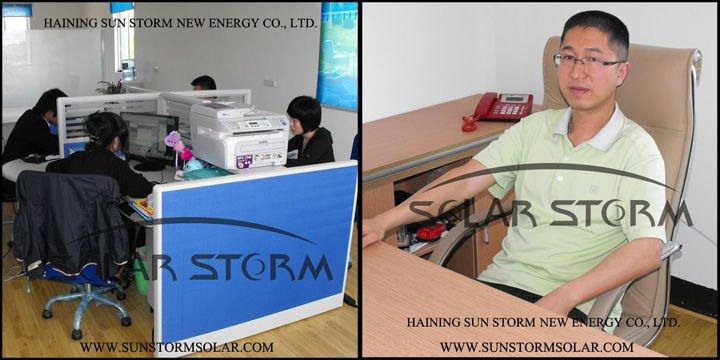 Solar Storm Canada Market Split Pressurized 500L Solar Water Heater