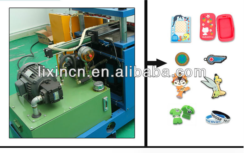 China good price Solid Silicone Brand Shaping Machine save electricity and manpower