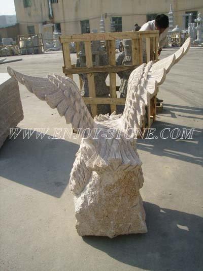 Eagle Granite Sculpture