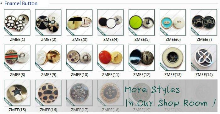 Alloys Size Chart Button Size Chart