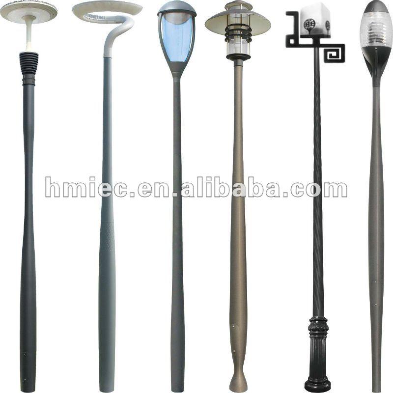 En alliage d 39 aluminium jardin clairage ext rieur lampadaires n 8 p teaux de lampadaire id for Poteau eclairage exterieur