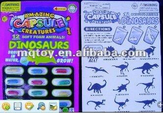 magic dinosaurs grow capsules
