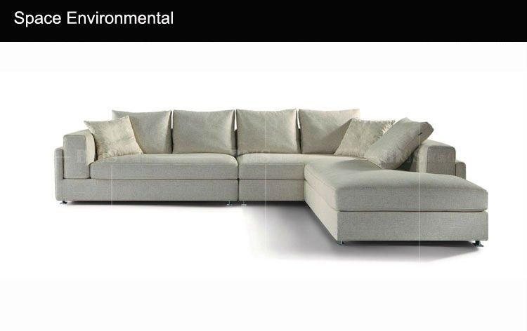 Modernos muebles de foshan muebles de color beige sofás para la ...