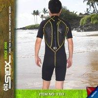 3мм коротышка мужская, гидрокостюм, водолазный костюм, купальник, неопреновый гидрокостюм