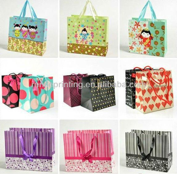 Custom Shopping Paper Bag,kraft Paper Bag,LuxuryPaper Bag