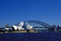 Холст для рисования Canvas painting picture of Sydney bridge for home decoration