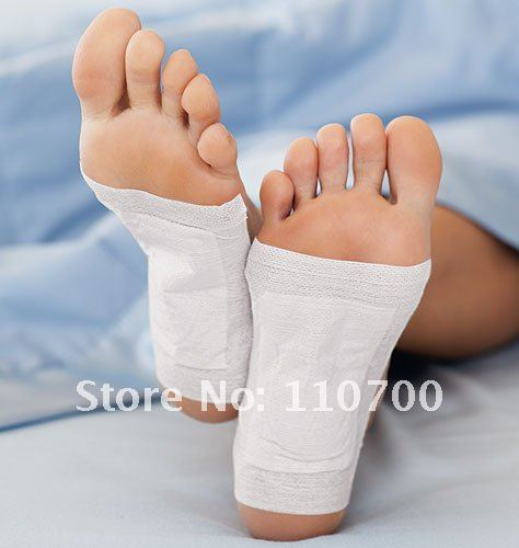 200pcs/lot Free Shipping Kinoki Detox Foot Pads Patches with Adhesive