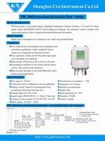 Настенный открытый канал расходомер - parshall лотковыми тип - 1.07'56330 l/s - lcd дисплей - дистанционного типа