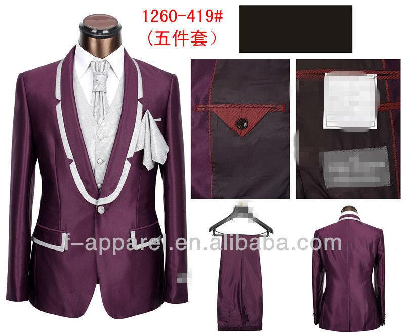 New Formal Shirt Design For Men 2013 men suit fashion evening dress