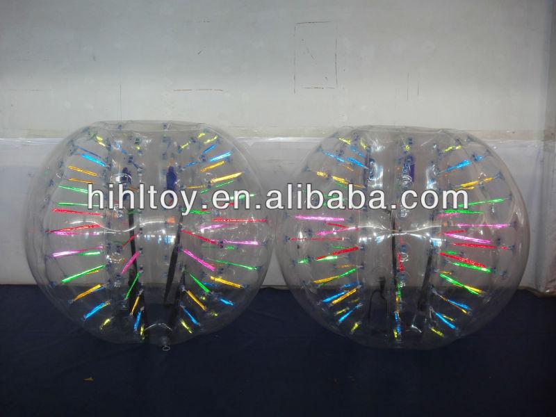 HI CE inflatable hollow plastic bouncing balls