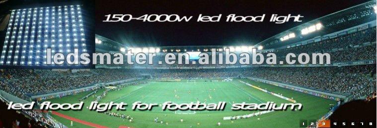 IP67 high performance high power 400W outdoor led flood Light/led stadium Light