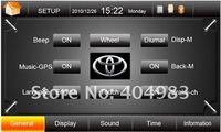 "Автомобильный DVD плеер 7"" 3D Menu PIP Car Stereo Car DVD Player Analog TV BT Auto Radio RDS IPOD"
