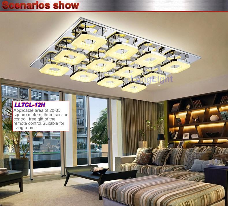 Aliexpress Buy LED Chandelier Modern Acrylic Ceiling
