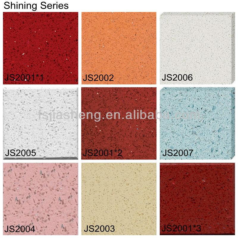 künstliche seashell quarz stein arbeitsplatte granit-fliesen, Moderne deko