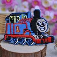 Заплатка для одежды 10 pcs/lot Thomas Train Embroidered patch iron on Motif Applique, garment embroidery patches DIY accessories