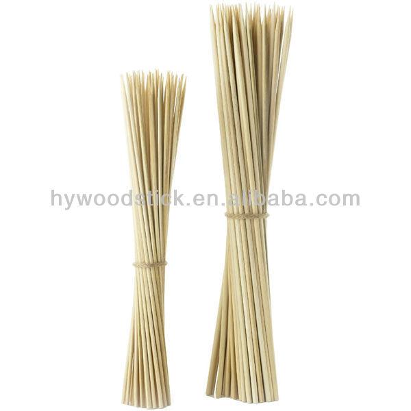 2014 New Disposable Flat Party Food Baking Bamboo Gun Skewer