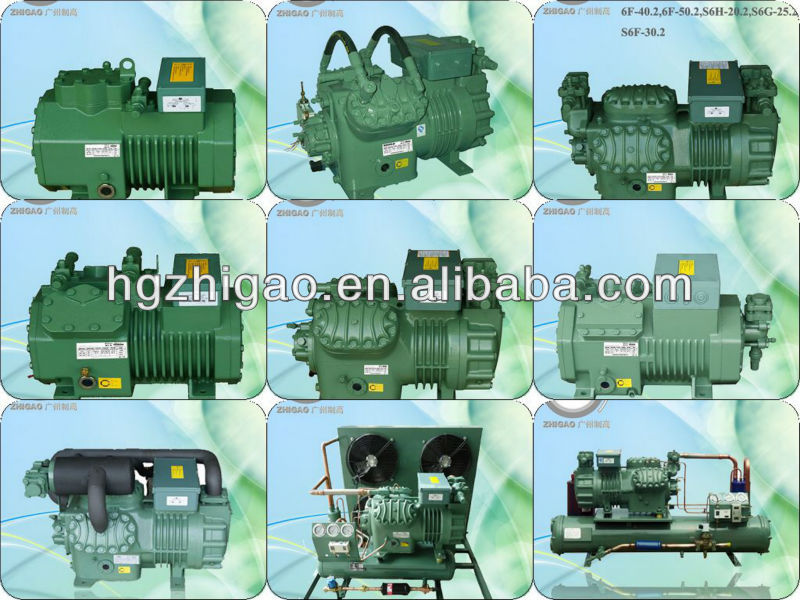 Four cylinders Bitzer semi-hermetic compressor 4PCS-15.2