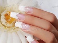 Стразы для ногтей Hot 20000pcs Clear Rhinestone Decoration Crystal Glitter Nail Art 2mm New 2012
