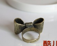 Кольцо Newarrival! Retro Bowknot ring .fashion bow ring .50pcs /lot