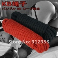 free shipping,hot sale,adult game,10 meter cotton rope costume,sex toys,flirt couple sex game
