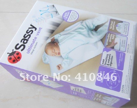 Baby Cribs Baby Pillow / Infant ultimate vent sleep positioners system for Newborn 1 pcs lot