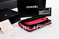 Клатч The real lamb skin lady handbags purse, wallet chanel * bag real leather lady handbag caviar bag