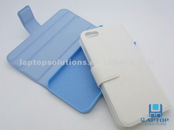 Stylish Folio Leather Case for iPhone 5