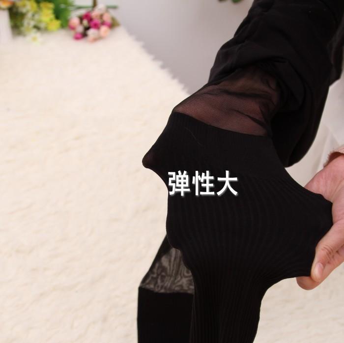 2013 חורף טייץ דק גבוה שקר שקר שקר הרגל צבע ירך גרביונים מיוצאים ליפן