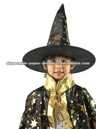 ... 0.5.jpg  sc 1 st  Alibaba & Kids Costumes Girls Boys Halloween Party Dress Up Wizard Hat Cosplay ...