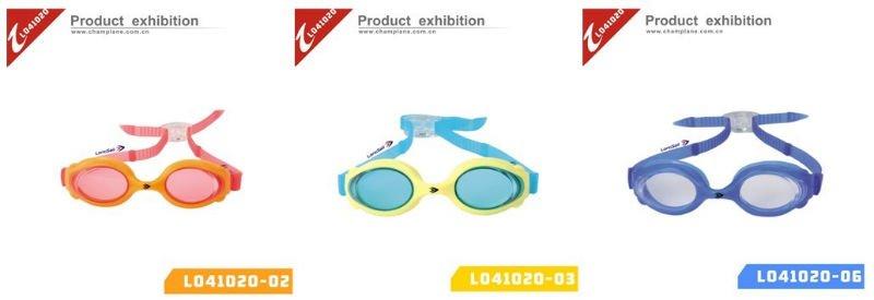 2014 colorful kids wholesale swimming goggles L041231-03