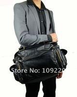 Портфель PJ Large Korean PU Leather Travel Carry on Shoulder Messenger Bag Men BG167
