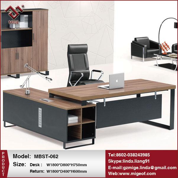 Escritorio ejecutivo moderno mobiliario de oficina de lujo-Mesas ...