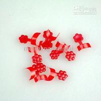 70pcs 6 цвета смешанные партии французская сторона ложных поддельные Типсы с box ногтей акриловые искусство 6boxes/лот