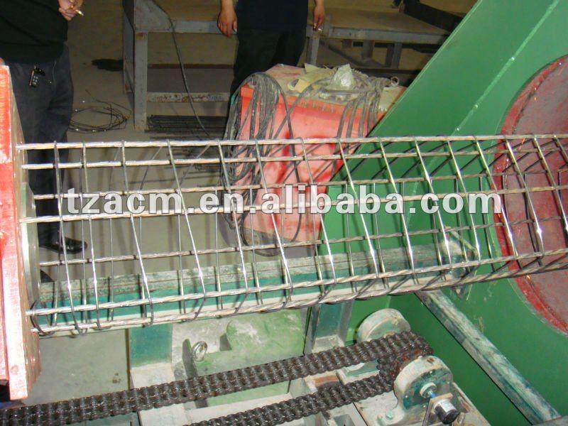 Square concrete pile wire cage welding machine
