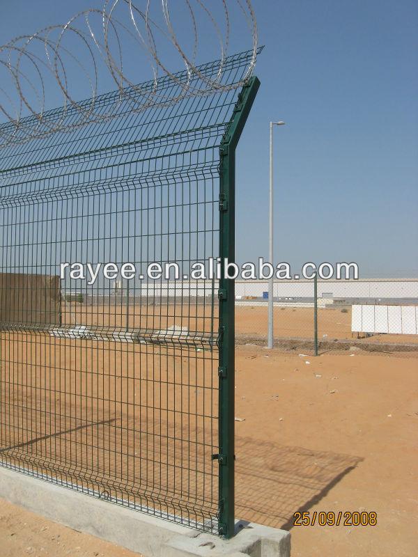 EU and USA metal fence panels (BS EN 1461 standard)
