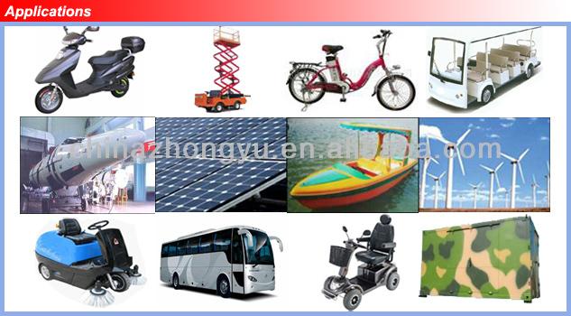 Hi power 12V lithium iron phosphate /LiFePo4 battery pack for EV/ECAR