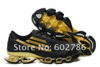 Мужские кроссовки 2012 brand men's Leather face running shoes Shock absorption Tank chain, sneaker, sports shoes EU40-45
