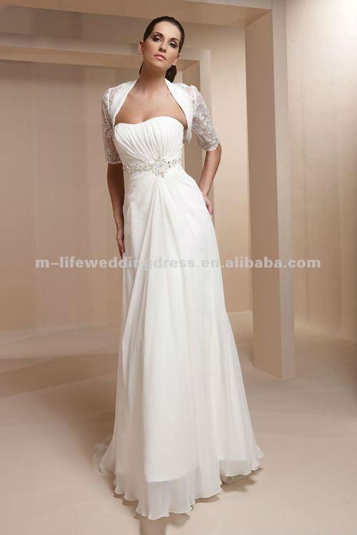 envío gratis lc2505 bolero diseñador de vestidos de novia a corto ...
