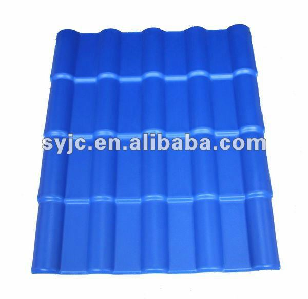 blue spanish roofing tile