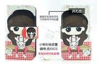 Чехол для для мобильных телефонов Holster leather flip Lovely funny little girl Named XiaoXi protective cover case for LG Prada 3.0 P940