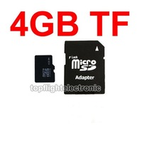 Карта памяти New Brand Memory Card 4GB Micro SD MicroSD TF 4GB With Adapter