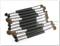 Кисти для макияжа Professional Dual Shadow brush round+angle Makeup tools