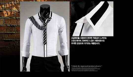 free ship EMS/luxury trend nackline point shirt/black white grey wedding groom shirt/M-L-XL