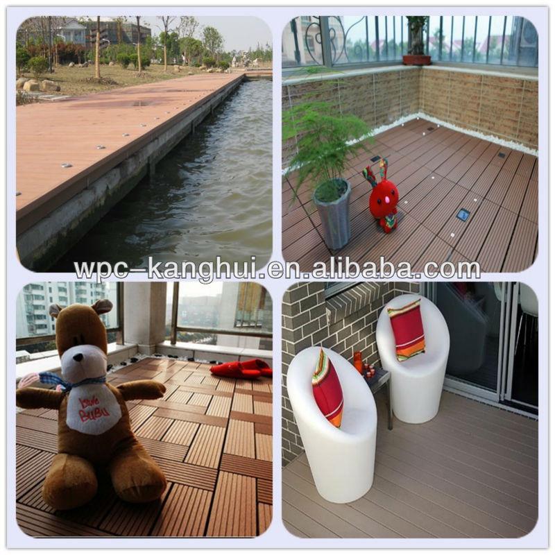 2013 Hot Sale,Waterproof WPC Outdoor Decking