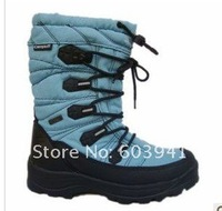 Женская обувь для пеших прогулок outdoor winter sport Sportswear Hiking cross camping climbing Skiing shoes Euro size 44, 45, 46 thicken Waterproof warm Slip brand