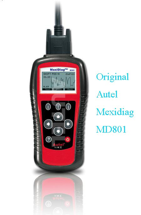support 18 popular cars,autel maxidiag pro md801